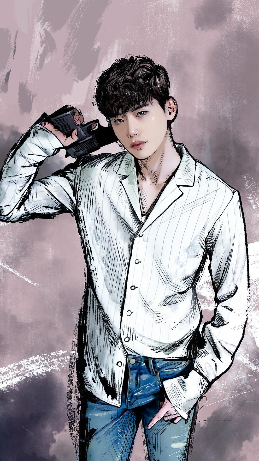 160826 Kang Chul Lee Jong Suk At Webtoon W Wallpapers