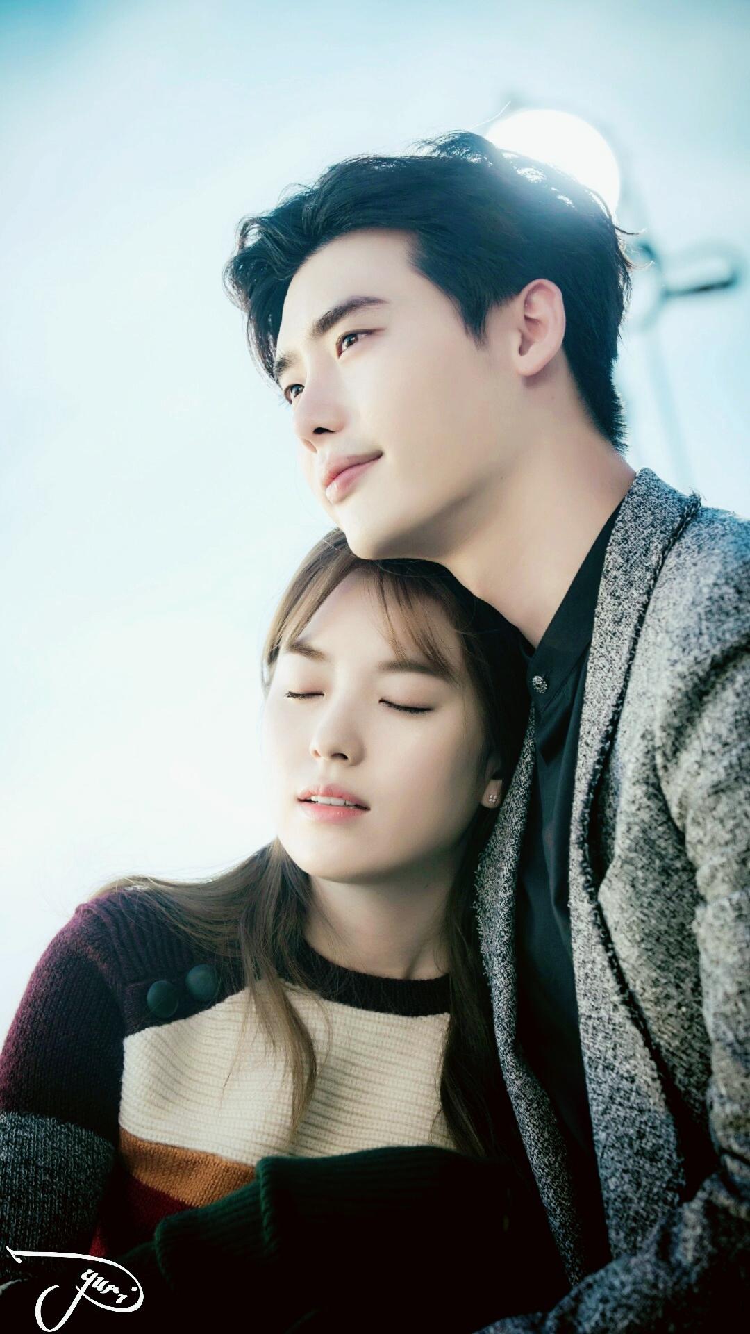160930 Lee Jong Suk Han Hyo Joo Jongjoo Couple At W
